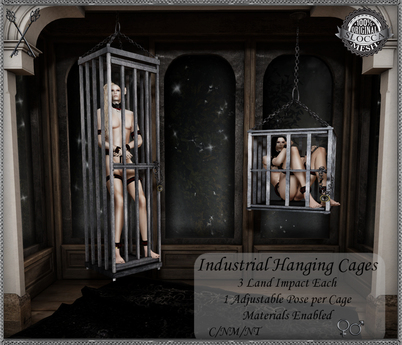 ~*S.E.*~ Industrial Hanging Cages