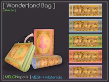 [M] Wonderland Bag // White Set