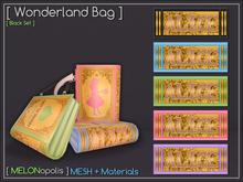 [M] Wonderland Bag // Black Set