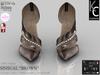".:KC:. SINSUAL Heels - ""BROWN"" - 6 Strap Colors / 2 Metal Options / 100% Original"