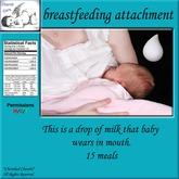 *CC* Cherub Care Breastfeeding attachment (Boxed)