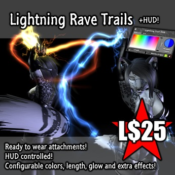 :Frio's: Lightning Trails Rave Attachments + HUD
