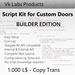 Script Kit for Custom Doors [BUILDER]