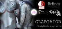 [White~Widow] Gladiator - MeshBody Appliers *wear me*