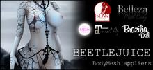 [White~Widow] Beetlejuice - MeshBody Appliers *wear me*