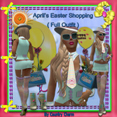 April's ( Easter Shopping (Sea foam / Purple )  Outfit