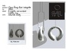 HAIL Open Ring Ear Weights