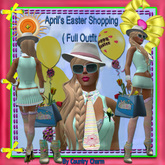April's ( Easter Shopping (Sea foam )  Outfit