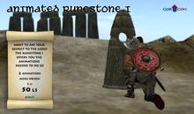 GOR CON Runestone I - Viking Torvaldsland medieval