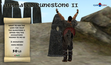 GORCON Runestone II - Torvaldsland viking medieval