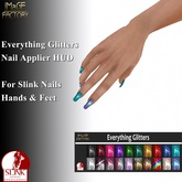 IMaGE Factory Everthing Glitters Slink Nail HUD