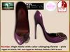 Bliensen + MaiTai - Rumba - pumps for Slink, Maitreya, Belleza, TMP - pink