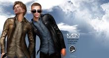 DISCOUNT %40 [MSN Design] Kevin Leather Jacket [FATPACK]