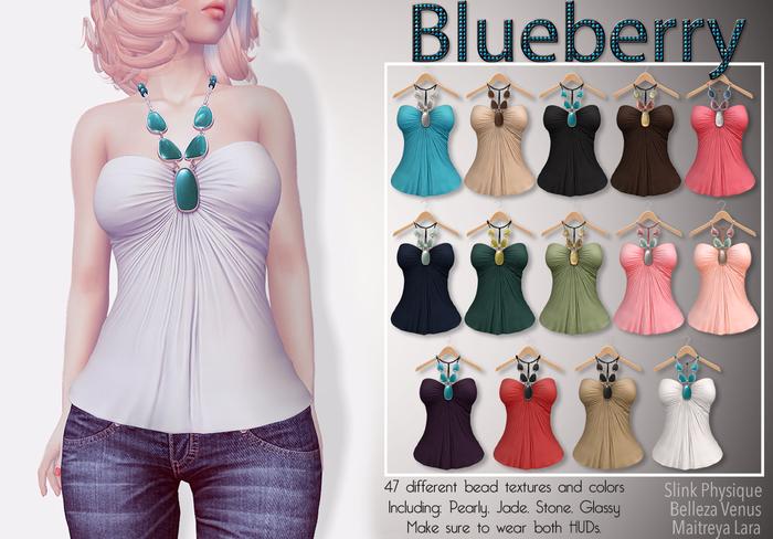 Blueberry Amalia - Maitreya / Belleza / Slink - Tops - Fat Pack