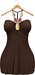 Blueberry Amalia - Maitreya / Belleza / Slink - Dress - Brown