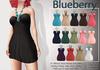 Blueberry amalia beaded dresses