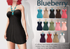 Blueberry amalia beaded dresses