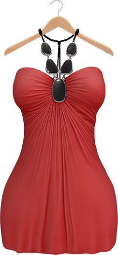 Blueberry Amalia - Maitreya / Belleza / Slink - Dress - Red