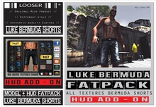 *2015 EDT.* █║▌LOOSER ║▌║® // [ BOX ] HUD DRIVEN Luke Bermuda Shorts FAT PACK