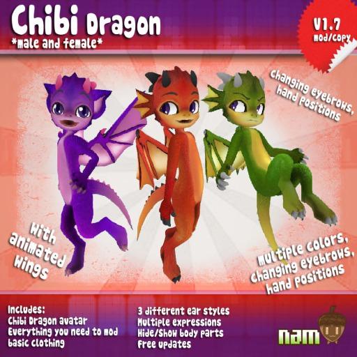 *NAM* Chibi Dragon ~2