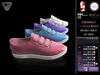 BLACK FRIDAY SALE - ILLI - [SLink,MeshProject,Belleza,Maitreya] Holly Spring Sneaker (HUD Driven)