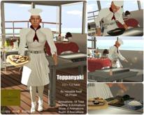 <Heart Homes> Teppanyaki Table! Japanese table to prepare sushi