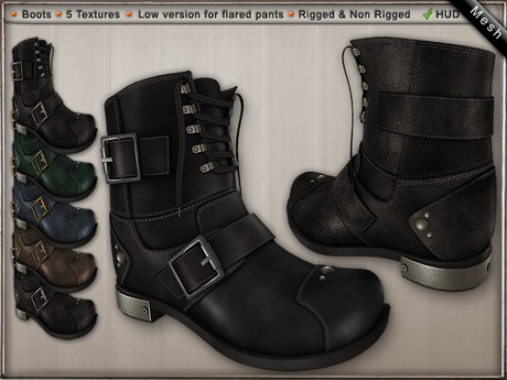 DN Mesh Sappy Boots w HUD