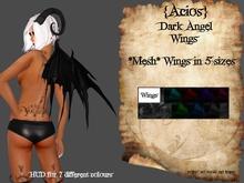{Acios} Dark Angel Wings