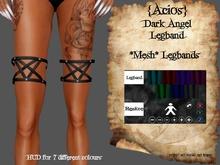 DISCOUNT {Acios} Dark Angel Leg band