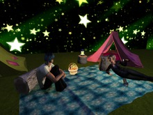 Sleeping in the Camping