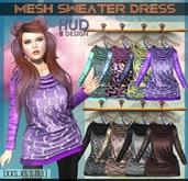 NS::  Mesh Sweater Dress (HUD)
