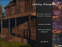 PROMO!! {DD} Rustic Porch Forest Cabin (bagged) was 1,300L!!