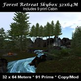 Forest Retreat Skybox 32x64M