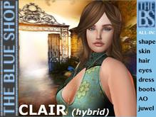 CLAIR HYBRID avatar (MESH HEAD)