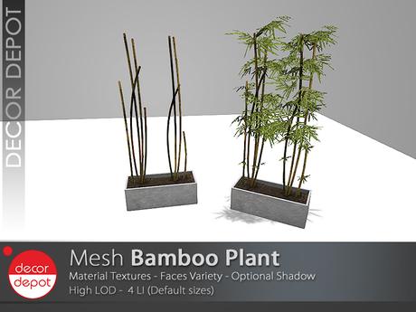 [DD] - FULL PERM  Bamboo Plant