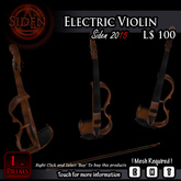 Electric Violin (BOX) 'Make Sure this is correct version for you'