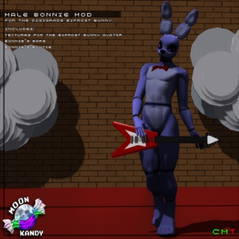 Second Life Marketplace Fnaf Male Bonnie Mod