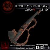Electric Violin (Broken) (BOX)