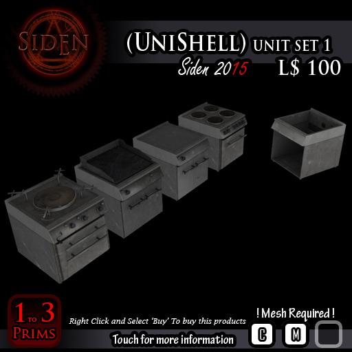 (UniShell) unit set 1 (Box.)