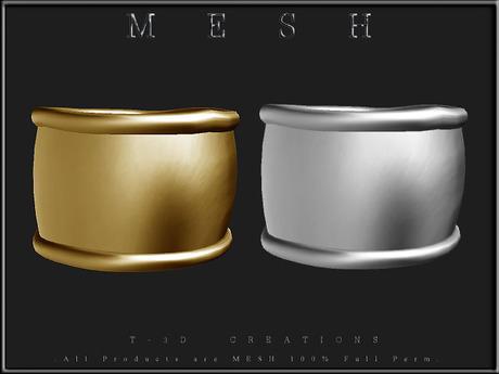 T-3D Creations [ Arm Band 003 ]  Micro MESH - Full Perm -