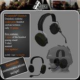 ">>D1 & MTG<<  ""Commtalk"" Headset"