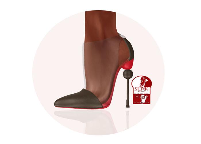 Story - Soc Shoes Brown (Slink High)