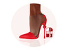 Story - Soc Shoes Red (wear)