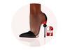 Story - Soc Shoes Black (Slink High)
