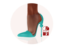 Story - Soc Shoes Mint (Slink High)