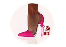 Story - Soc Shoes Pink (Slink High)