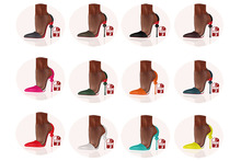 Story - Soc Shoes Deluxe Pack (Slink High) *12 Color*