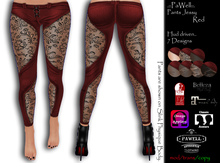 .::PaWell::. Pants Jessy Red (Wear)