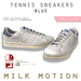 (Milk Motion) tennis sneakers - blue (female version)