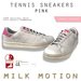 (Milk Motion) tennis sneakers - pink (female version)